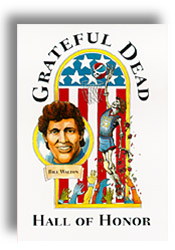Bill's Grateful Dead Hall of Honor Poster