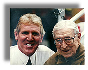 Bill Walton and John Wooden.